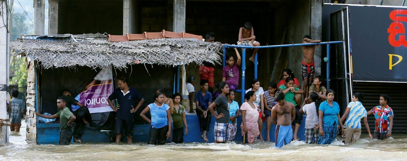 Жорстока стихія на Шрі-Ланці забрала вже 60 життів