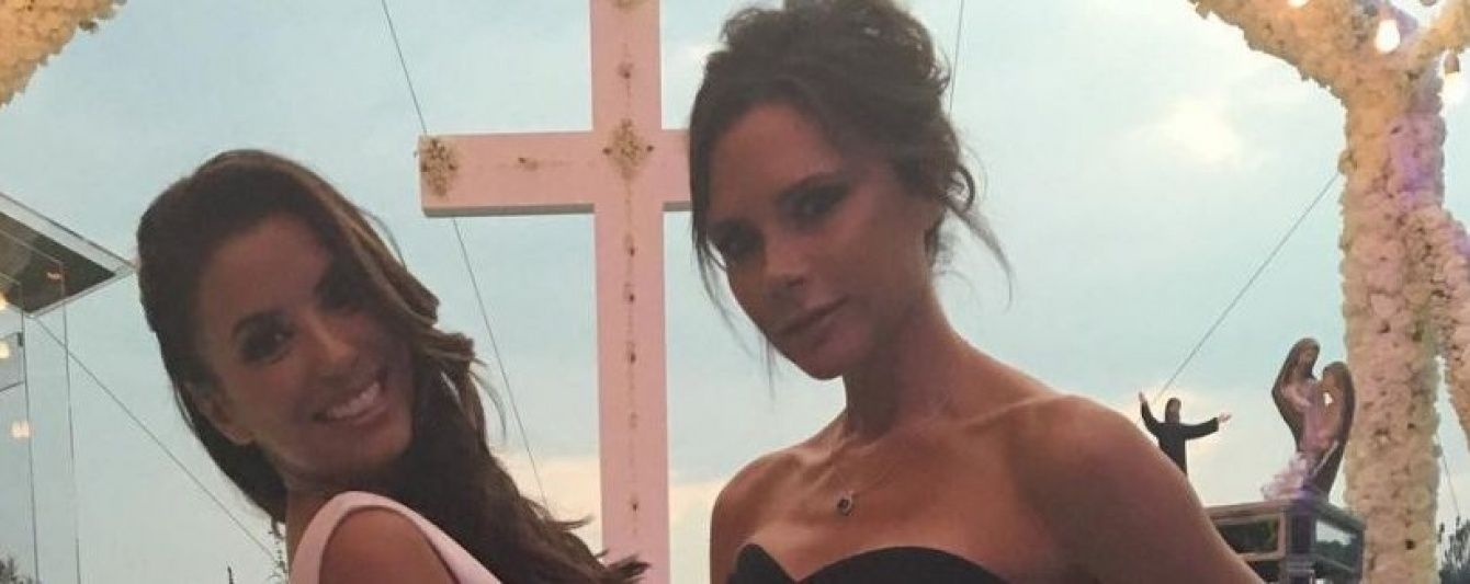Жіноча дружба: Вікторія Бекхем показала, як допомагала Лонгорії надягати весільну сукню