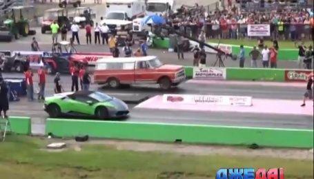 Международный обзор. Lamborghini против старого американского пикапа