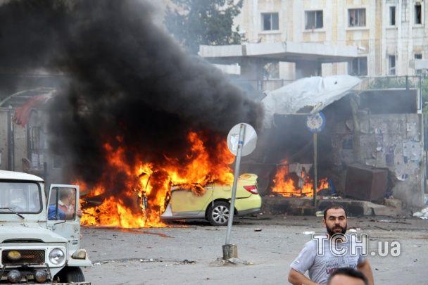 У сирійському місті, де розташована база ВМФ Росії, прогриміли потужні вибухи