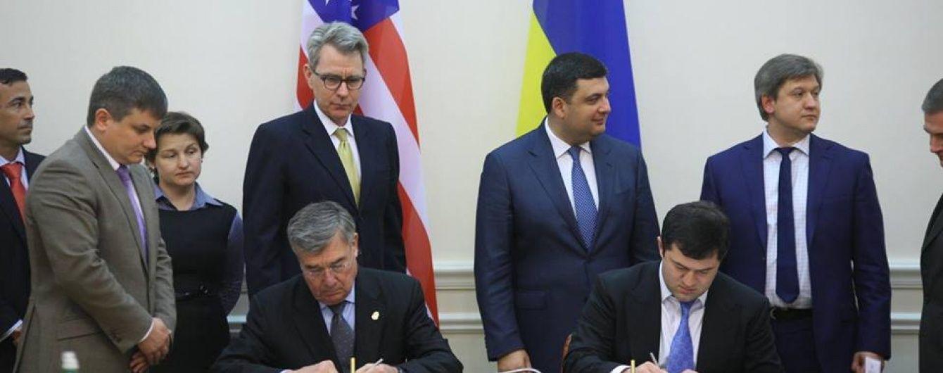 Україна та США підписали договір про співпрацю між митними адміністраціями