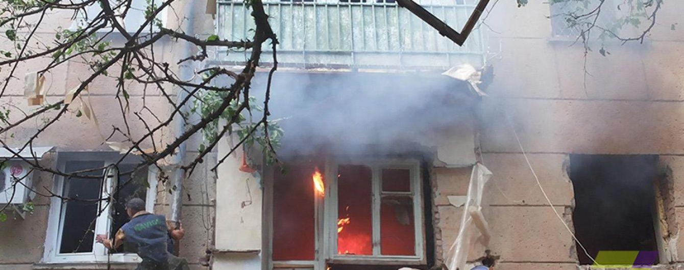 Після вибуху в Одесі двоє чоловік госпіталізовані у важкому стані