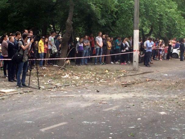 Поліція оприлюднила подробиці вибуху в Одесі: є жертви