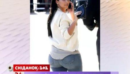 Кім Кардашян хоче зменшити свої сідниці
