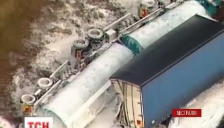 Смертельная авария в австралийском Мельбурне