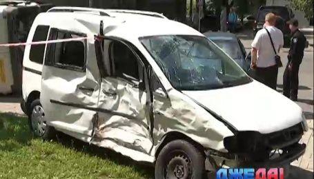 Авария с участием инкассаторов произошла в Днепре