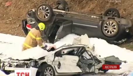 Ужасная авария в Австралии