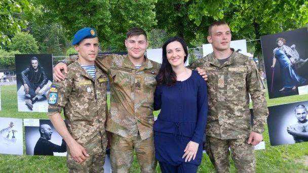 """Соломія Вітвіцька і Назар Барилко представили проект """"Переможці"""" у Лурді"""