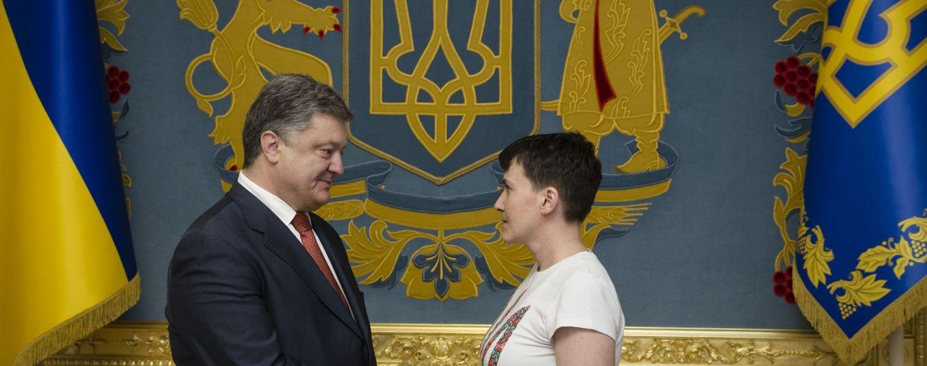 Порошенко розкрив деталі переговорів про звільнення Савченко