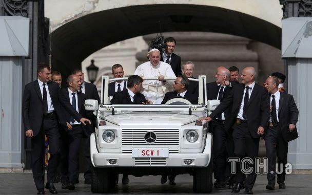 Папа Римський благословив українських військових