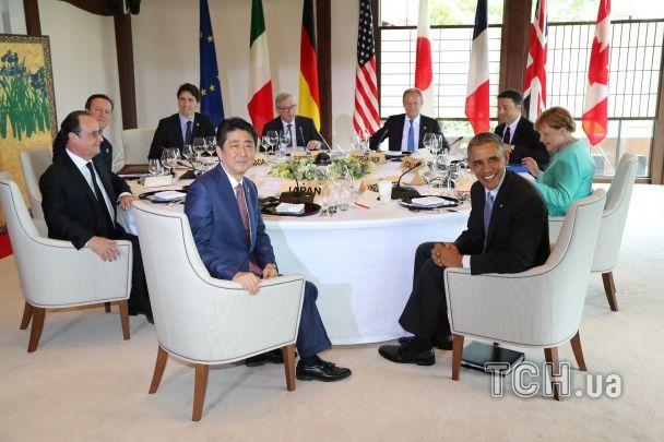 """У Японії розпочався саміт """"Великої сімки"""", на якому обговорять санкції проти Росії"""