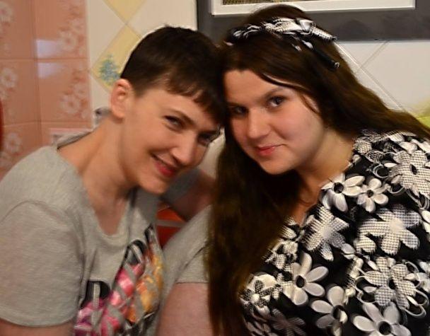 Дівочі посиденьки й плани на майбутнє. Подруга Савченко розповіла про нічну розмову з льотчицею
