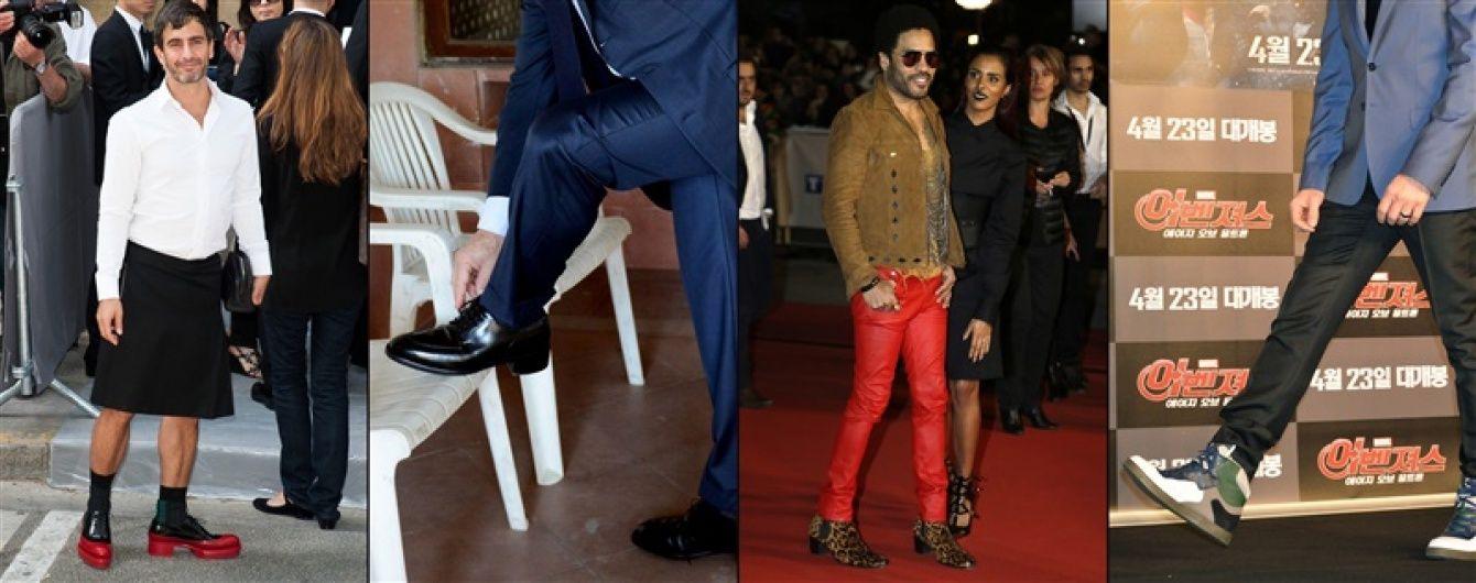 Мужчины на каблуках: знаменитости, которые хотят казаться выше