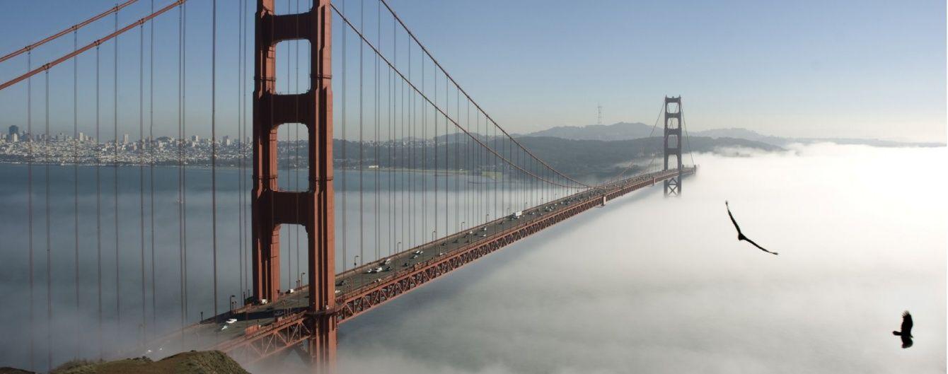 """""""Золота Брама"""" крізь туман: найвідомішому мосту самогубців виповнилося 79 років. Інфографіка"""
