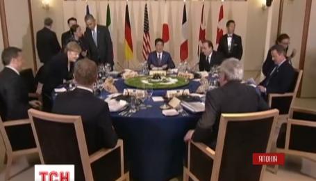 Америка и Евросоюз заверили Украину в поддержке на саммите G7 в Японии