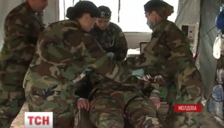 Совместные учения военных врачей завершились в Кишиневе