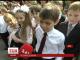 В українських школах лунає останній дзвінок