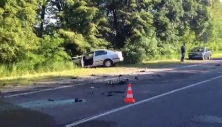 В аварії на Рівненщині постраждало 5 осіб