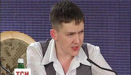 Савченко готова стать президентом, если за нее проголосуют