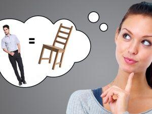 Чем мужчина отличается от стула