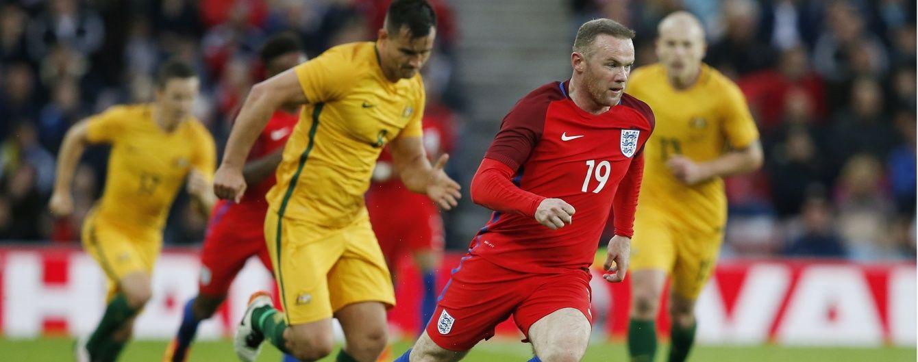 """Збірна Англії """"розім'ялася"""" на австралійцях у товариському матчі"""