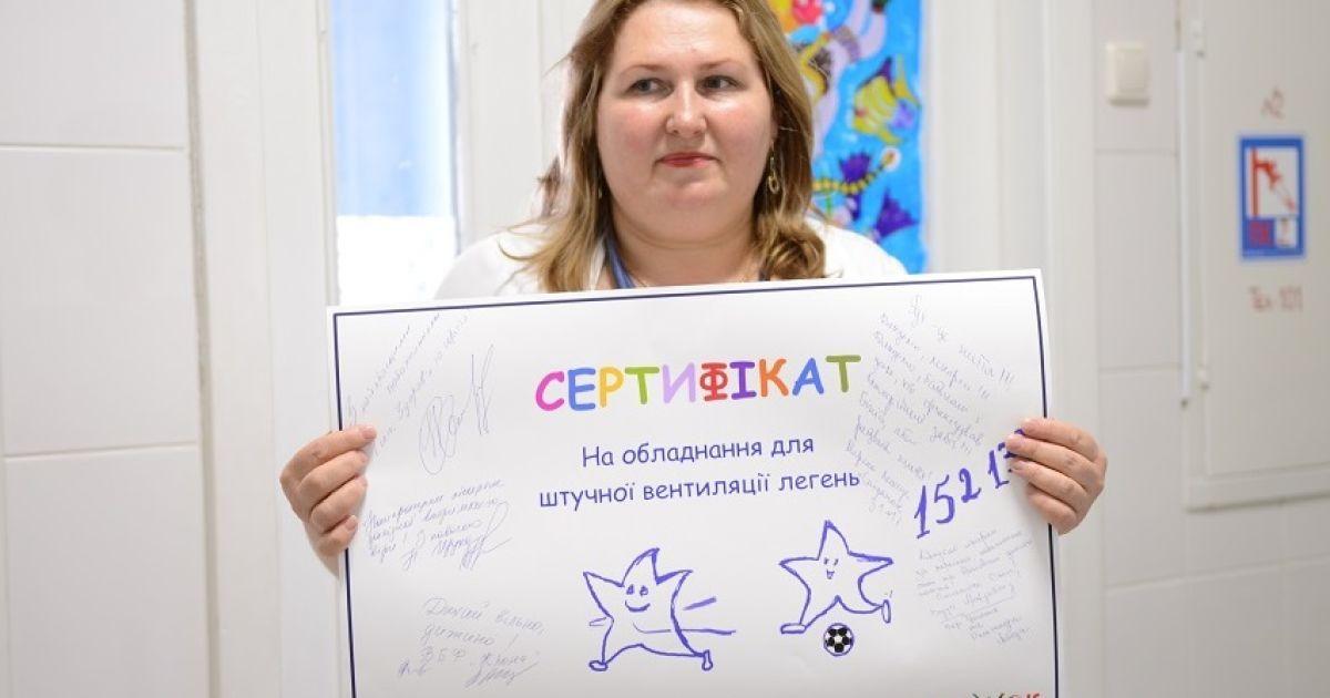 Всего благотворители-марафонцы привлекли 258117 гривен.