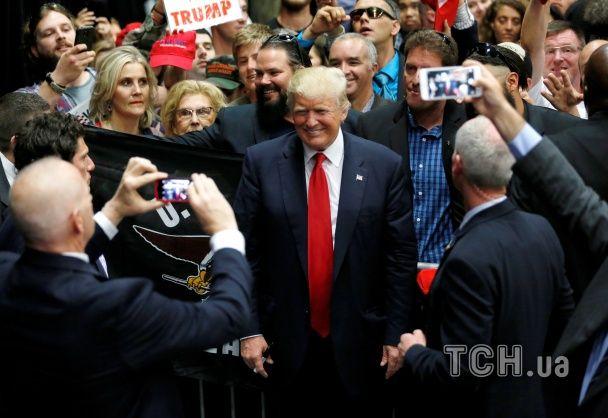 Між прибічниками і противниками Трампа сталися сутички