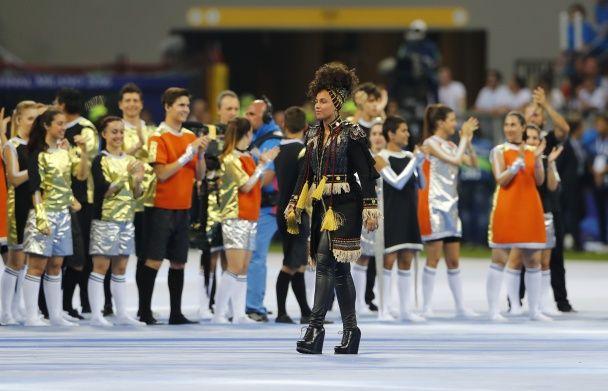 У Мілані ефектним шоу стартував фінал Ліги чемпіонів