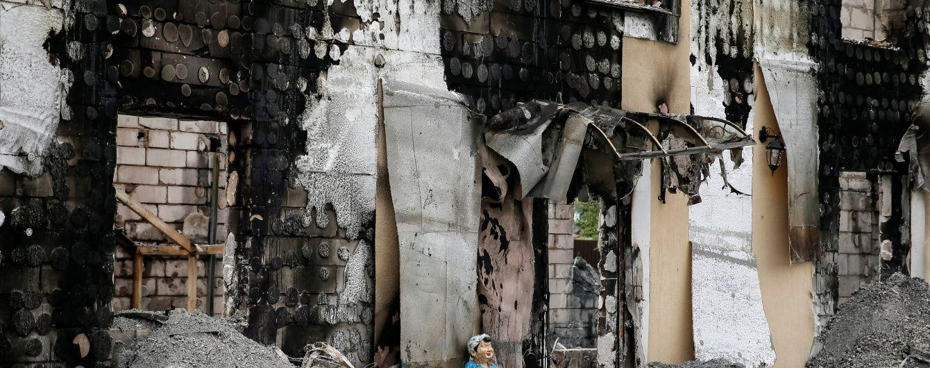 Суд визначиться із запобіжним заходом для власника згорілого будинку для літніх людей