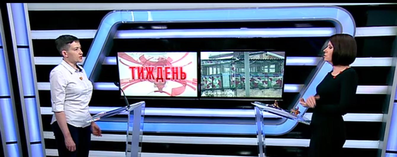 Савченко розповіла про стан здоров'я і скільки встигає поспати