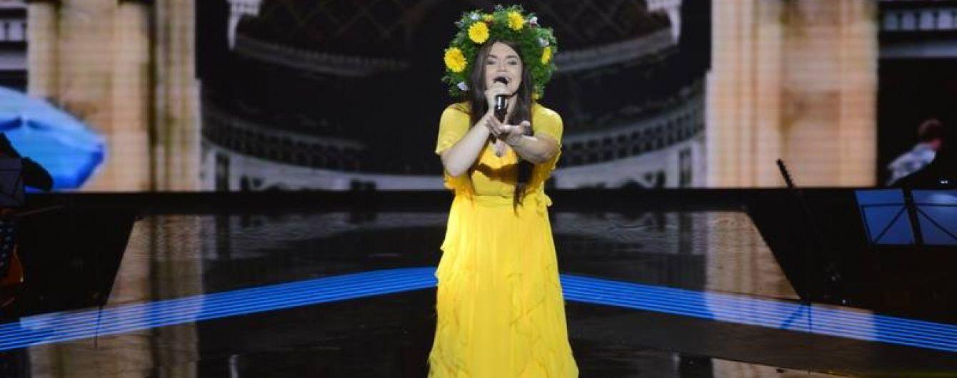 """У суперфіналі """"Голосу країни"""" Віталіна Мусієнко заспівала неофіційний гімн України"""
