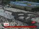 У Харкові п'ять тисяч велосипедистів створили живий символ міста
