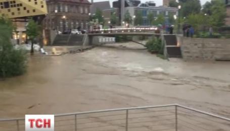 Повінь у Німеччині спровокувала евакуацію жителів