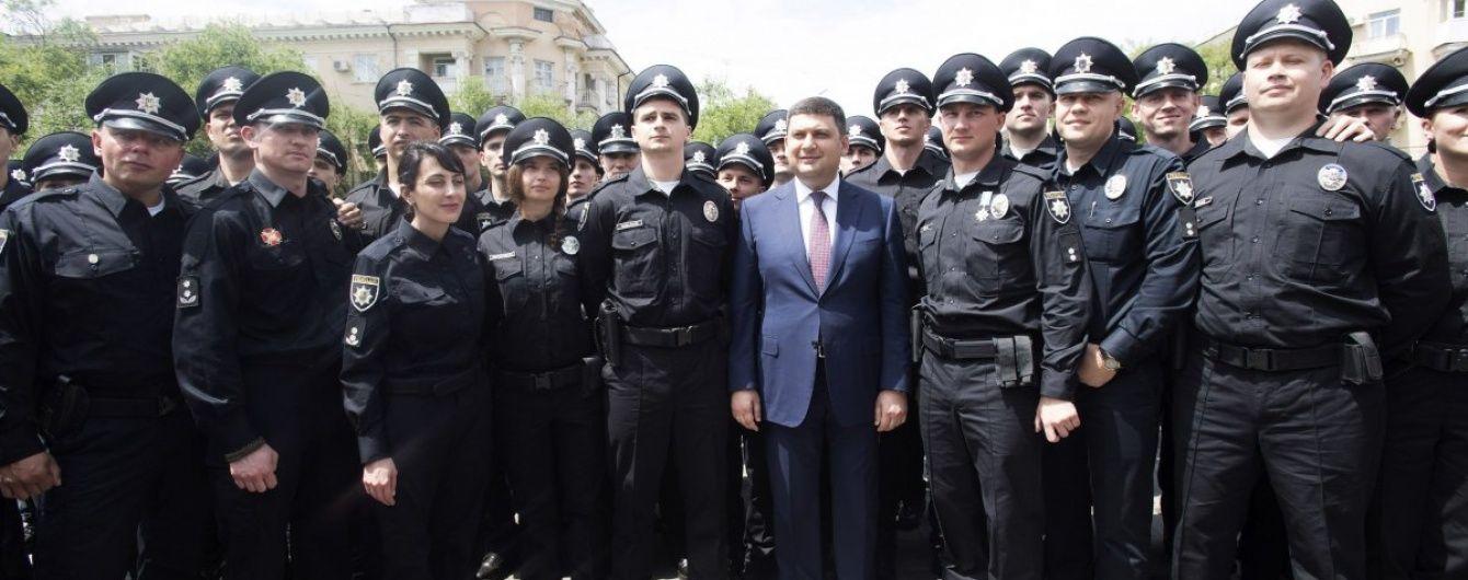 На присягу поліцейських Маріуполя приїхав голова місії ЄС