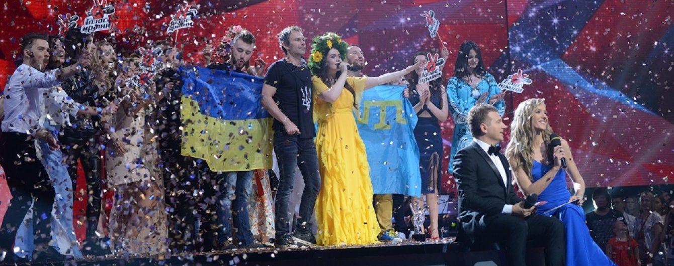 """""""Голос країни"""" на """"1+1"""" став найпопулярнішим вокальним талант-шоу на українському ТБ"""