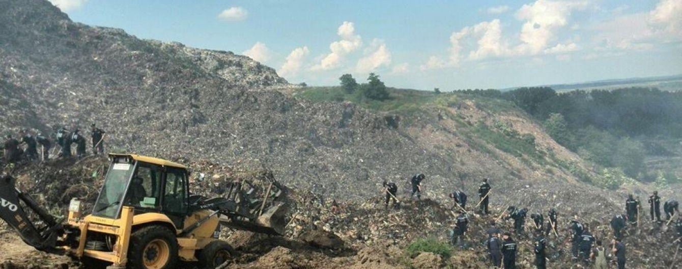Через пошукові роботи на сміттєзвалищі ускладнився вивіз відходів зі Львова