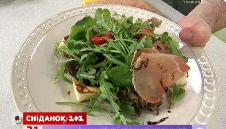 Рецепт салата с клубникой от Руслана Сеничкина