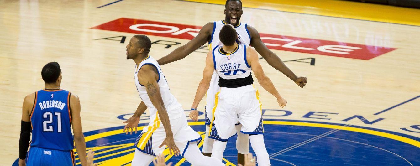"""""""Голден Стейт"""" став другим фіналістом НБА"""