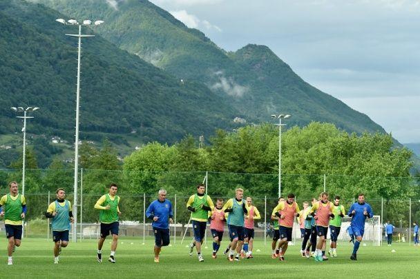 Інтенсивний початок в Асконі: як збірна України готується до Євро-2016 у Швейцарії