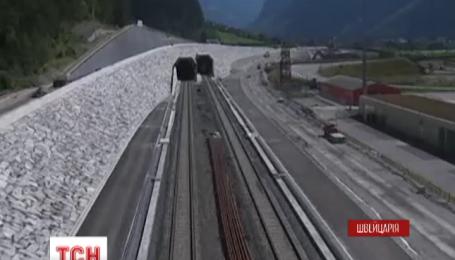 В Швейцарии откроют тоннель, который позволит пересекать Альпы за 20 минут