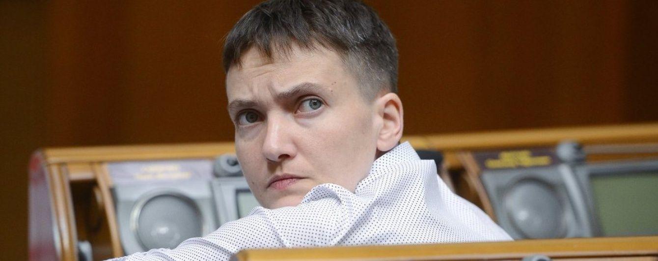 Жодної копійки зарплати і авторська винагорода. Савченко показала декларацію про доходи