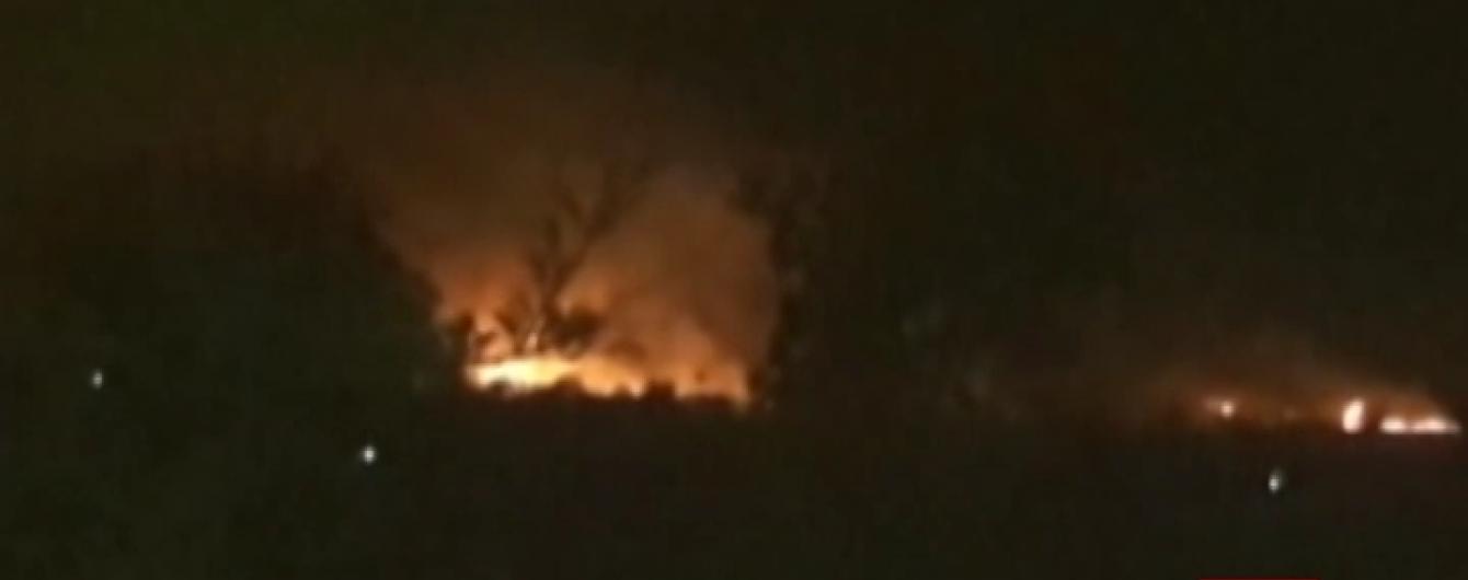 В Індії палає склад боєприпасів: уже загинули 17 чоловік