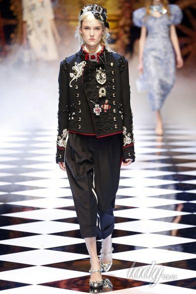 Коллекция Dolce & Gabbana прет-а-порте сезона осень-зима 2016-2017_1