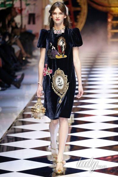 Коллекция Dolce & Gabbana прет-а-порте сезона осень-зима 2016-2017_6