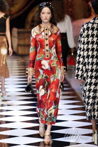 Коллекция Dolce & Gabbana прет-а-порте сезона осень-зима 2016-2017_7