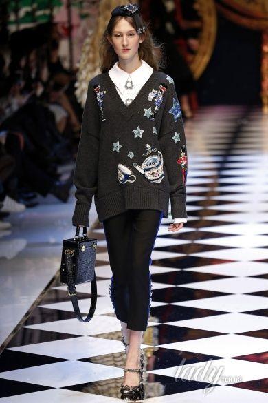Коллекция Dolce & Gabbana прет-а-порте сезона осень-зима 2016-2017_12