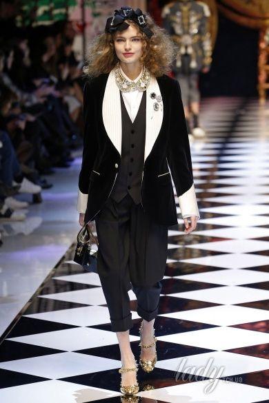 Коллекция Dolce & Gabbana прет-а-порте сезона осень-зима 2016-2017_21