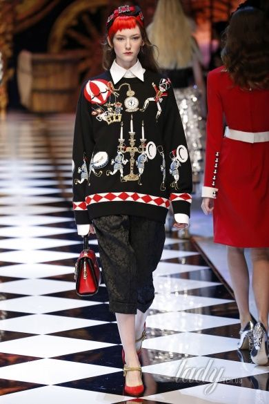 Коллекция Dolce & Gabbana прет-а-порте сезона осень-зима 2016-2017_22