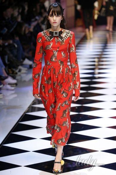 Коллекция Dolce & Gabbana прет-а-порте сезона осень-зима 2016-2017_24