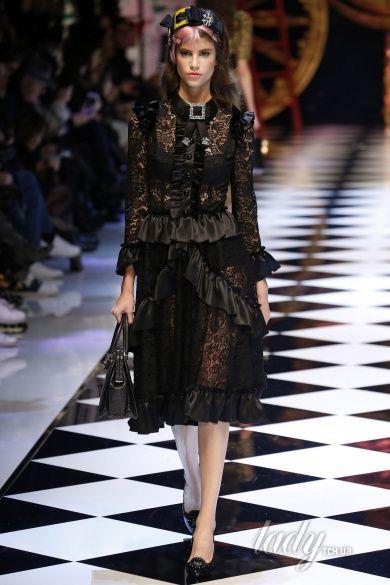 Коллекция Dolce & Gabbana прет-а-порте сезона осень-зима 2016-2017_33